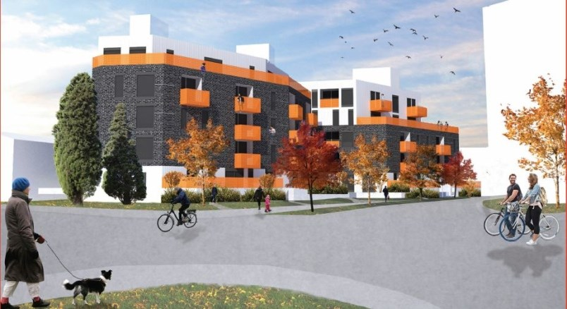 The proposal is for a five-storey rental building for a site at 1990 to 1956 Stainsbury Ave. near Vi