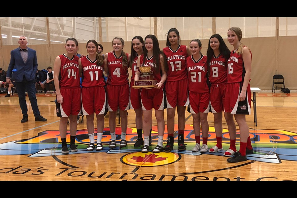 The Valleyview Vikings won the senior girls 2019 Fulton Cup on Friday at the TCC.
