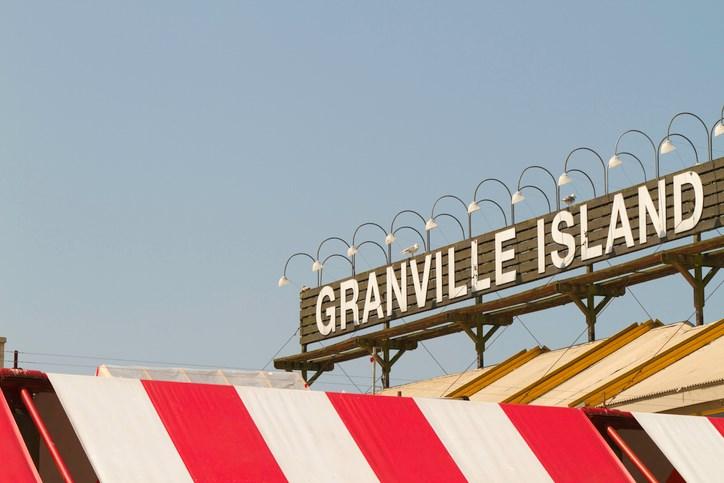 Granville Island sign
