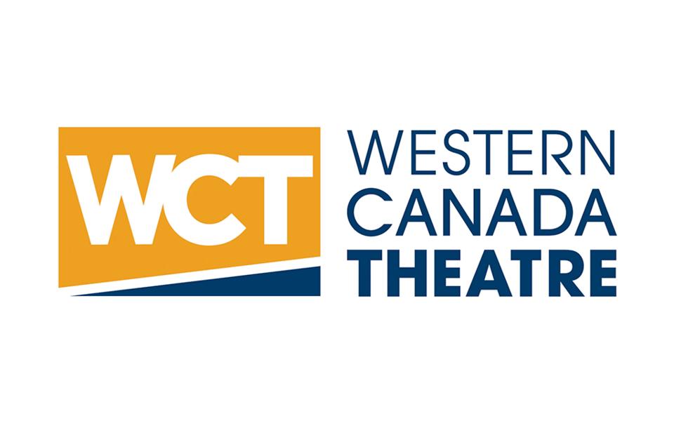 western canada theatre logo wct logo