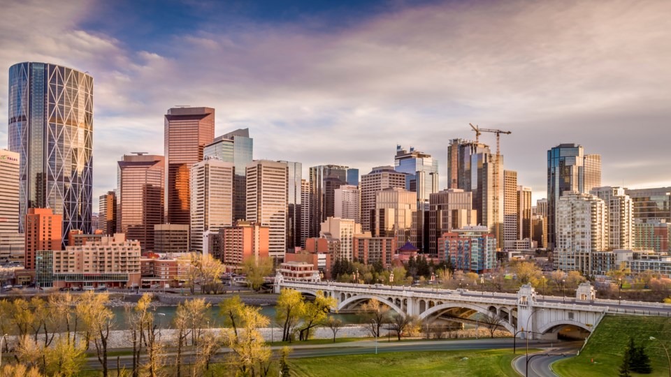 Calgary downtown offices