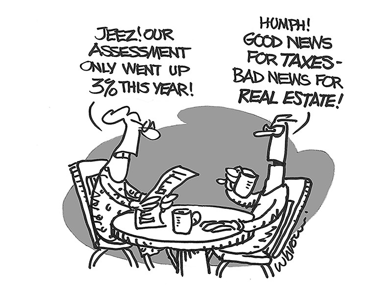 Powell River Peak cartoon
