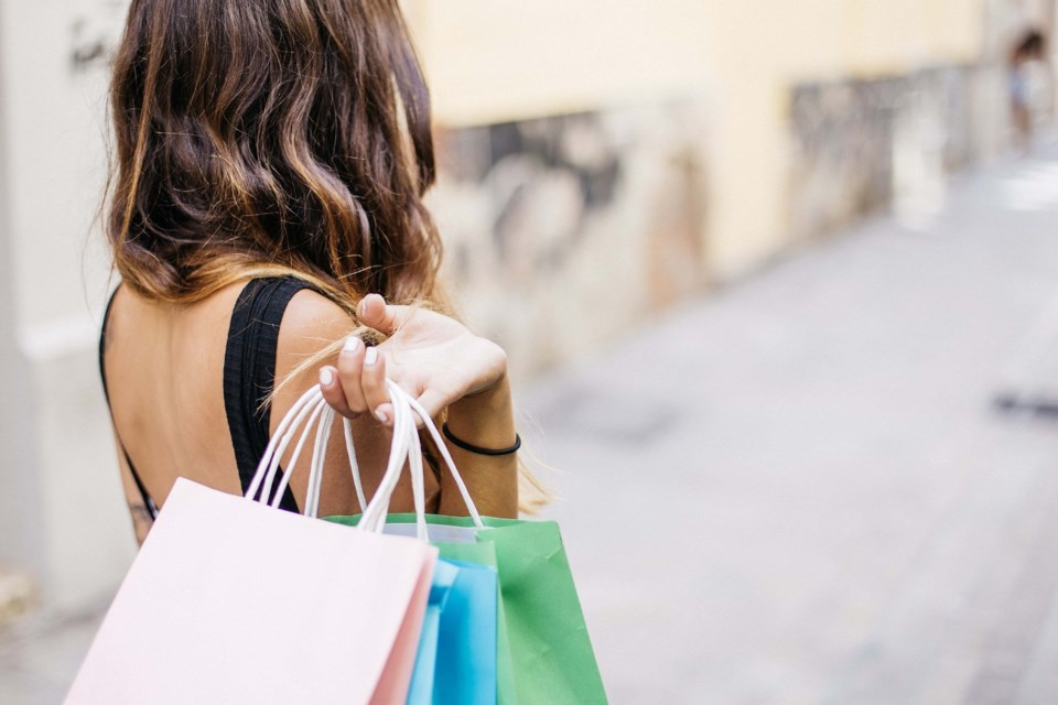 shopping stock