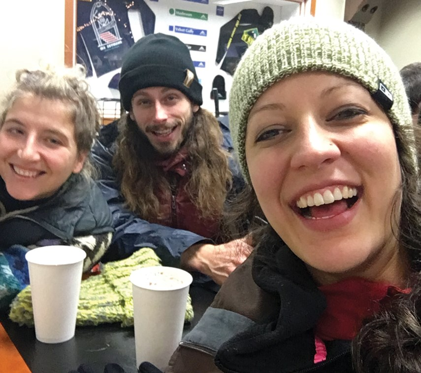 More than 100 people stuck in Mt. Seymour chalet overnight_0