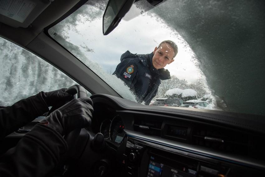 DPD remove snow