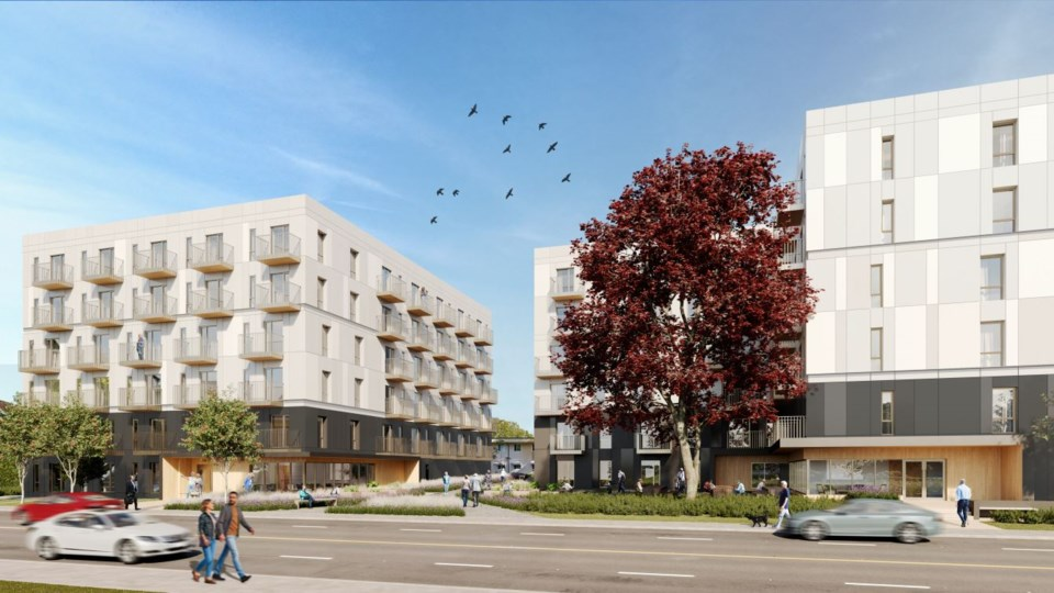 Brightside wants to redevelopment its properties at 1425 and 1451 East 12th Ave. to produce a new tw