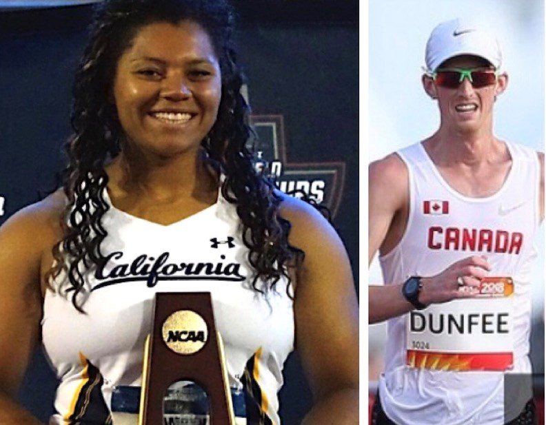 NCAA hammer throw champion Camryn Rogers and World Track and Field Championships bronze medalist Evan Dunfee are both finalist for Sport BC Athlete of Year Awards.
