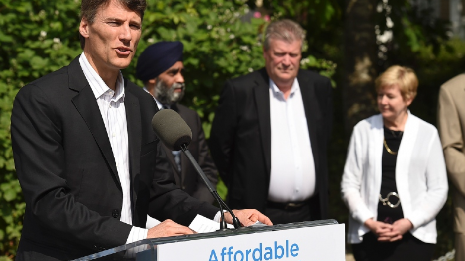 Former Vancouver mayor Gregor Robertson has been hired by construction firm Nexii as its new vice-pr