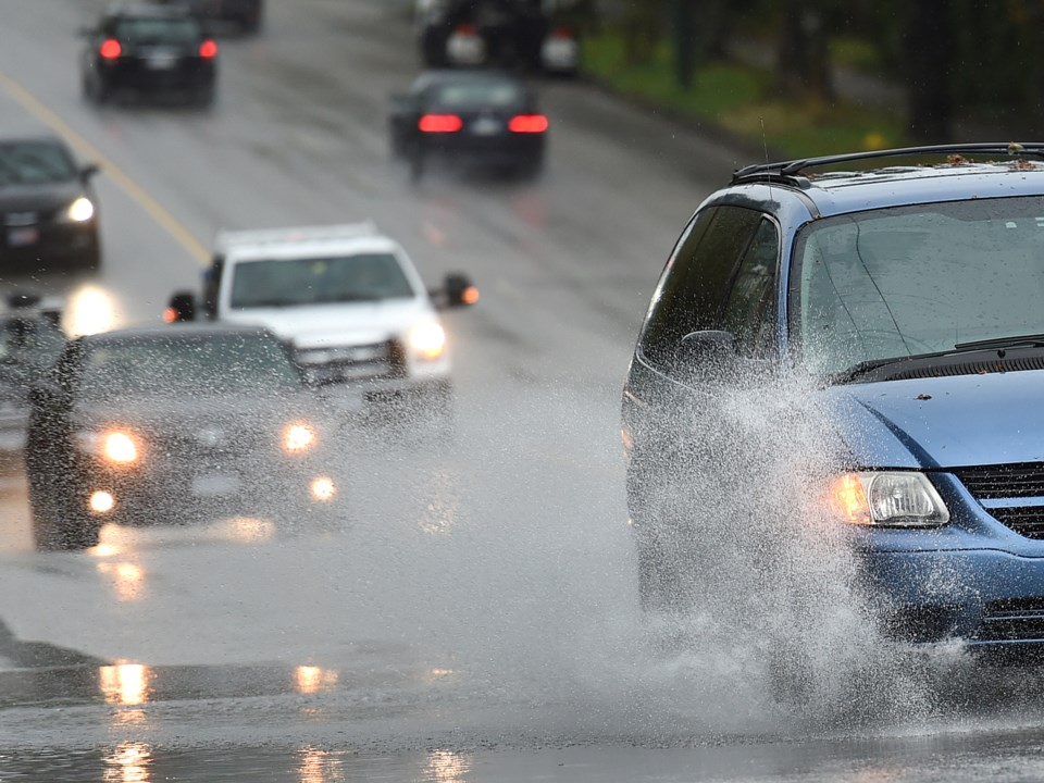 eavy rainfall is expected to continue through the morning across Metro Vancouver, which may cause lo