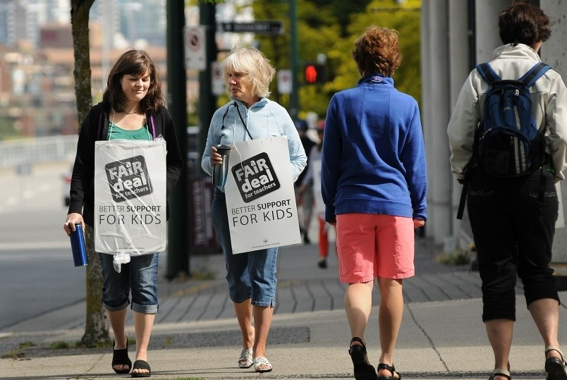 In 2014, B.C. teachers were on strike for five weeks, over a period that stretched through the summe