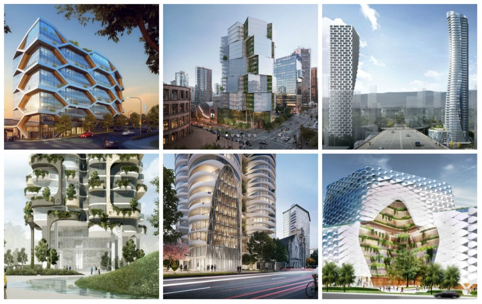 Some of the developments that are proposed or approved for Vancouver