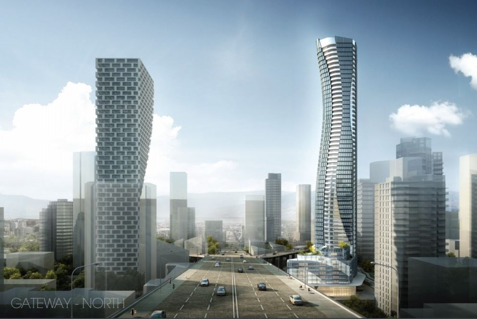 """Pinnacle International hopes to build a tower at 601 Beach Crescent. The goal is to create a """"Granvi"""