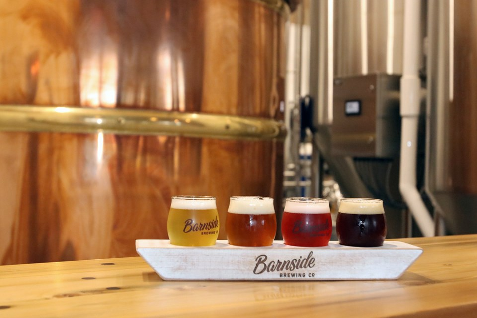 Barnside brews tasting