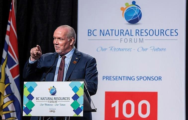 John Horgan Natural Resources Forum