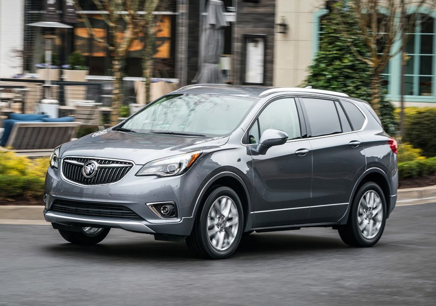 The Buick Envision is a refined yet affordable vehicle that has had a hard time breaking into the competitive SUV marketplace since its debut in 2016. photo supplied Buick