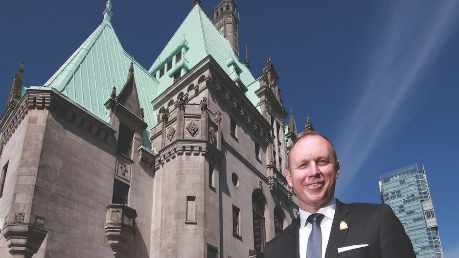 Fairmont Hotel Vancouver general manager Adam Laker