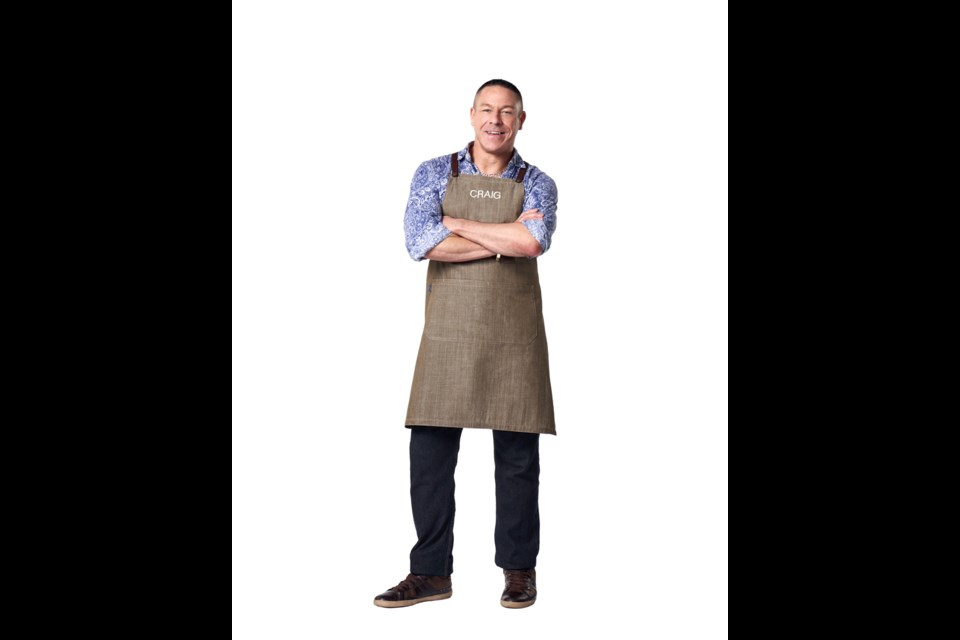 Craig Taylor is one of five Canadians competing in the Food Network's Great Chocolate Showdown, airing Tuesdays starting Feb. 4.