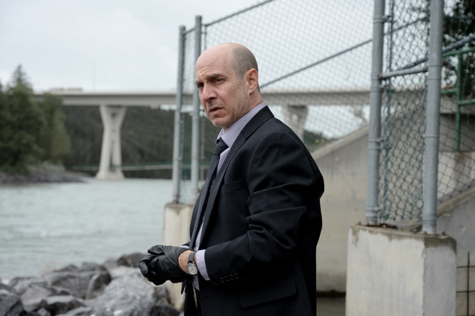 Vancouver-based actor Brian Markinson's lengthy list of credits includes plum roles in Mad Men, The