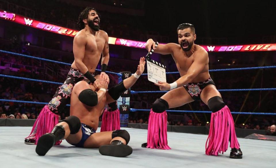 Singh Brothers, WWE