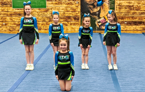 The Energetic Edge Cheer Association delighted all onlookers at their annual showcase at Dr. Kearney on Saturday, February 15, 2020.