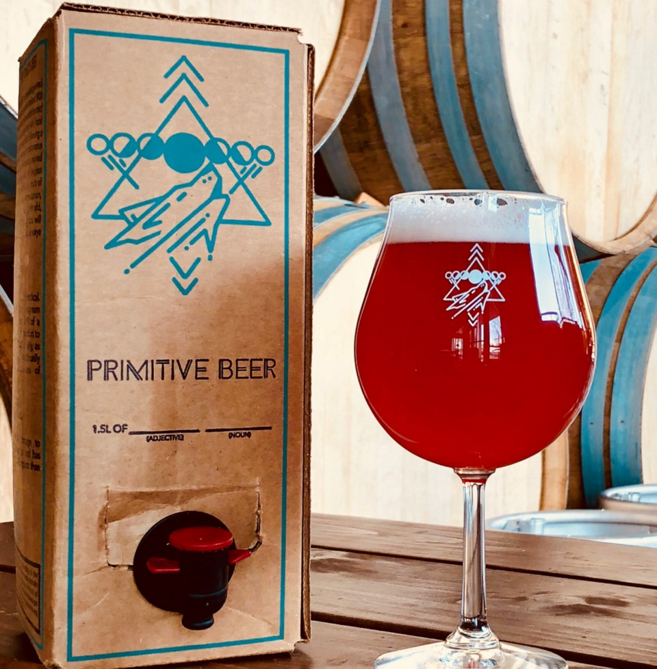 Colorado's Primitive Beer has pioneered the use of boxed craft beer in the U.S. Photo courtesy of @p