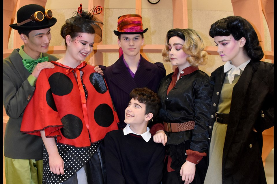 The leads in James and the Giant Peach.