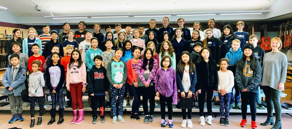 CoroVoce, Coastal Sound Children's Choir, Laura Hawley