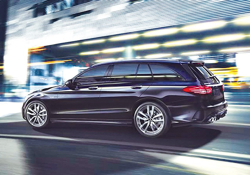The Mercedes-Benz AMG C43, available in Canada as a sedan or wagon, provides some of the best performance you'll find in the luxury compact class. photo Mercedes-Benz
