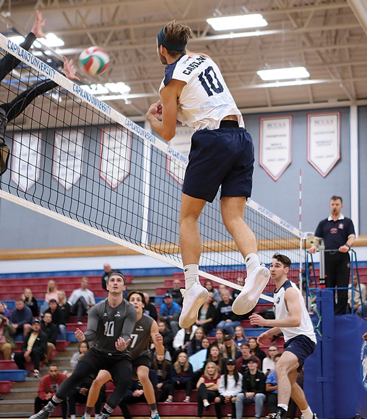 Blues volleyball