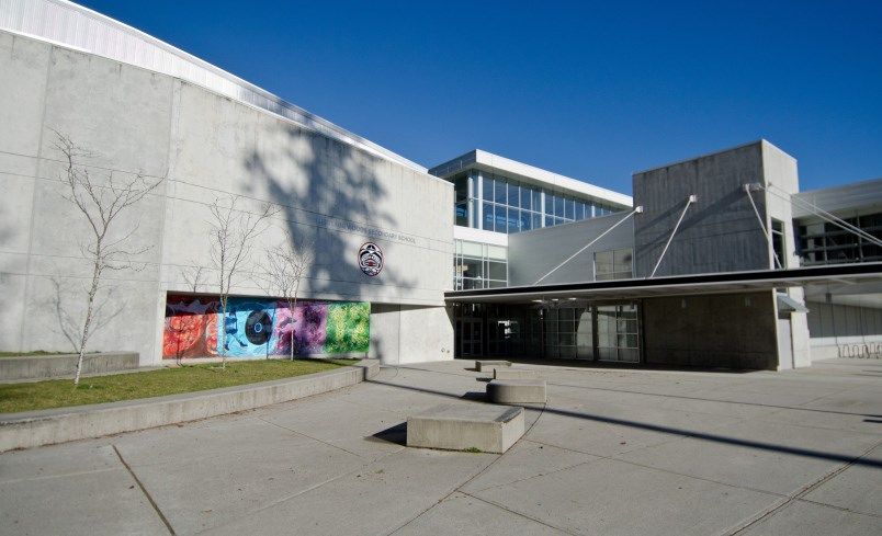 Five students from Heritage Woods secondary school in Port Moody were arrested following allegations