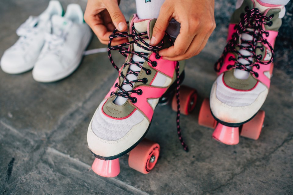 Lace up April 4, when the Shipyards in North Van hosts the Vancouver Rollerskate Festival. Photo iSt