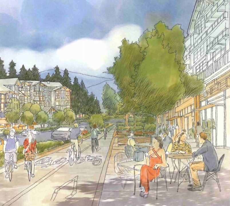 Burrard Commons project in Anmore
