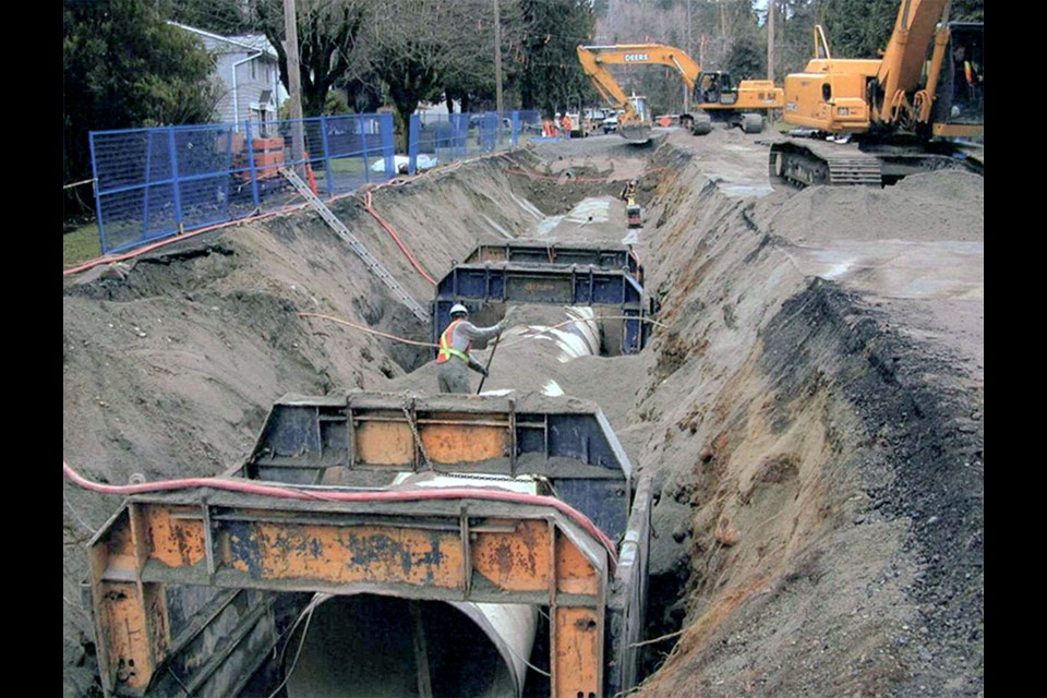 Metro Vancouver plans on installing a 3.2-metre-diameter water main underneath Coquitlam's City Centre neighbourhood starting next year.