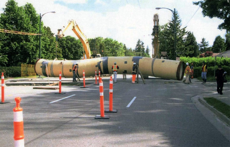 That's one big pipe planned for Coquitlam City Centre_1