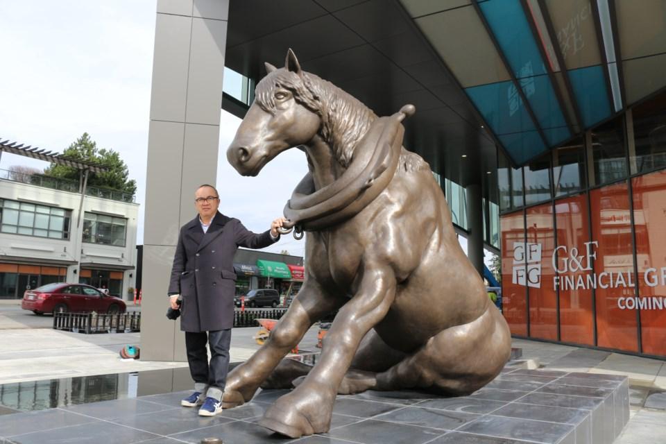 Ken Lum, The Retired Draft Horse