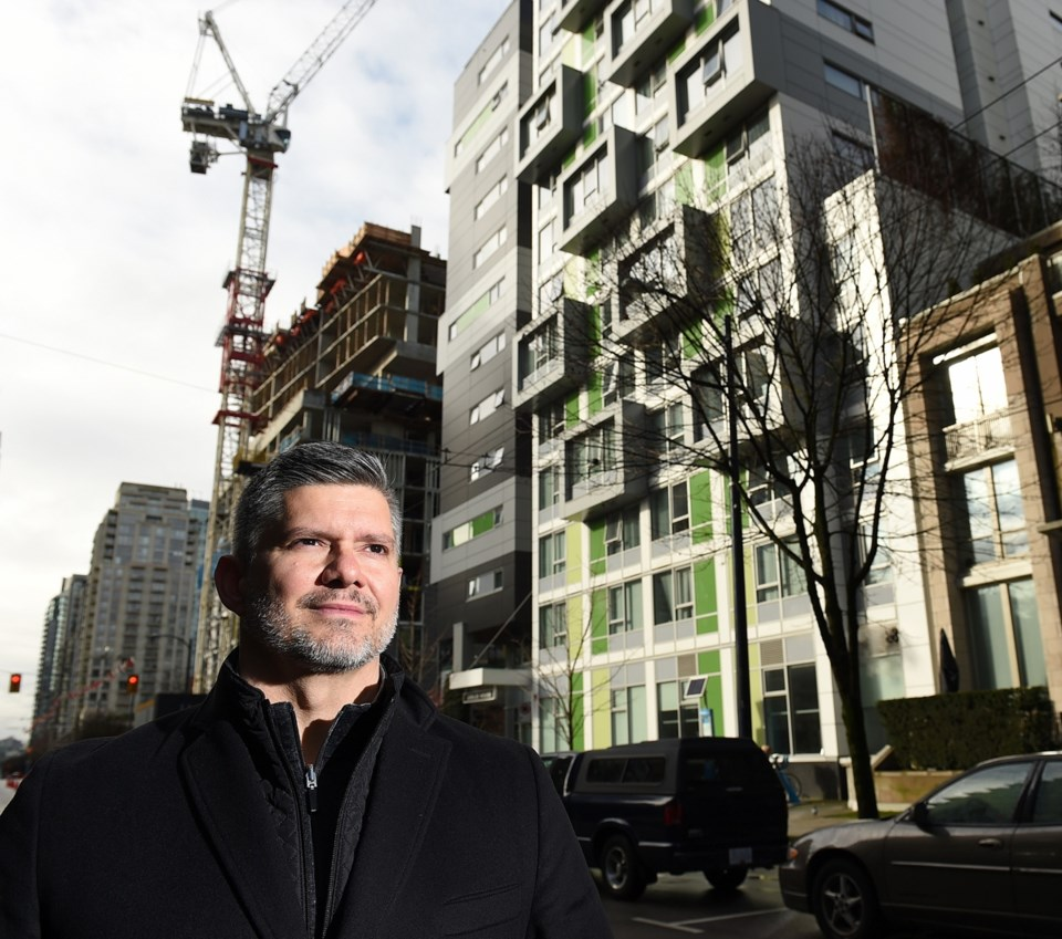 Former chief city planner Brent Toderian recently learned his son was not accepted into Crosstown el