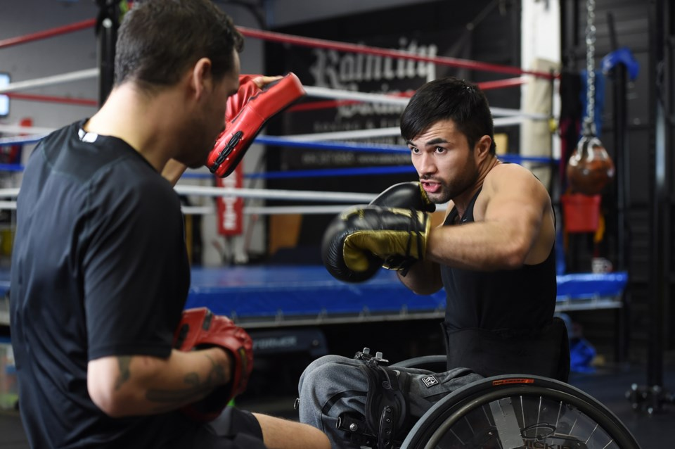 """Leo Sammarelli: """"It totally transformed my perception of boxing. You have to develop the chair skill"""