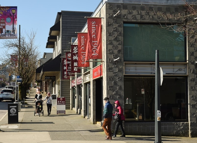 """""""The Point Grey Village neighbourhood truly is in transition, but as new development happens, and mo"""