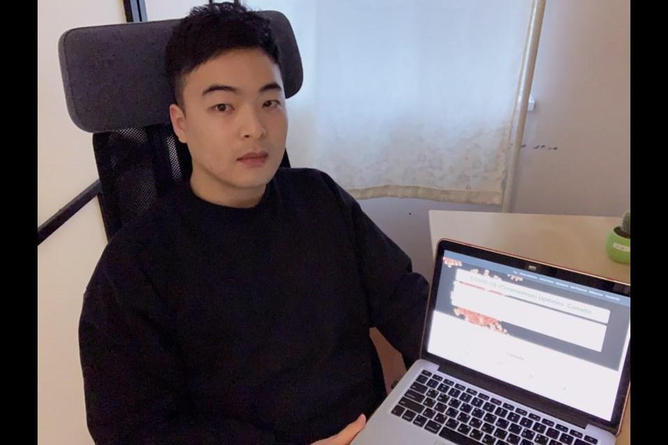 Curtis Kim, a recent BCIT graduate, said he developed the web tool as he prepares for job interviews
