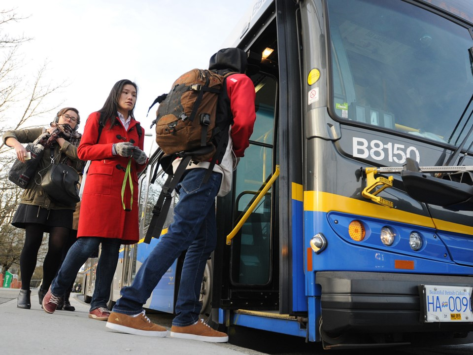 More buses and new bus routes are coming to Metro Vancouver next month. File photo Dan Toulgoet