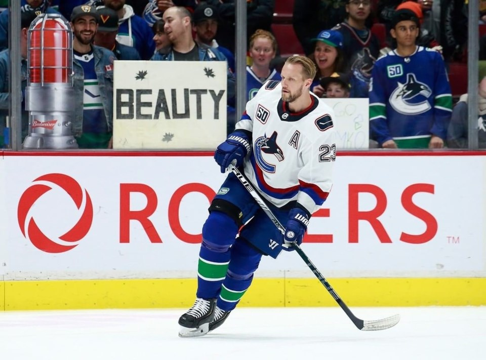 Jay Aikenhead won the title of Canucks Fan MVP, and now he's competing against other fans around the