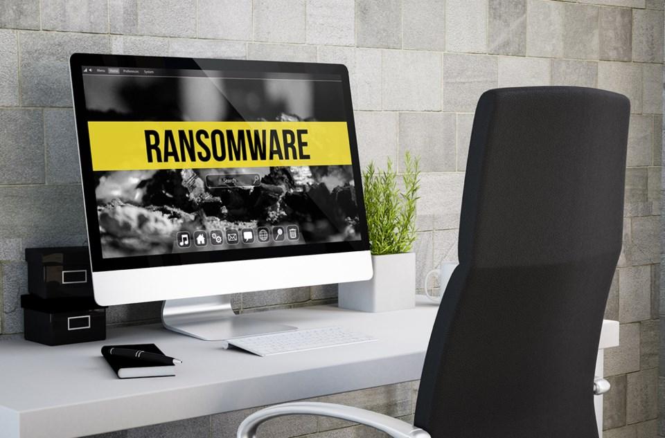 Ransomeware on computer