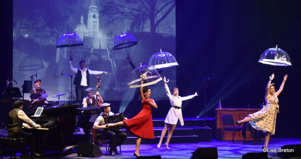 Paris! The Show brings its French charms to UBC's Chan Centre March 18.
