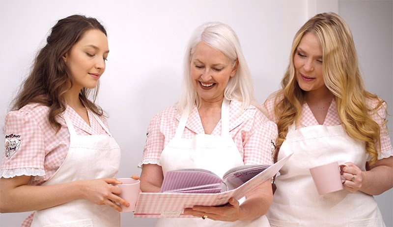 Port Moody councillor and Silk Gallery owner Zoe Royer is starting Sweetheart Bakery Press, with the help of her daughters Charlotte and Carola.