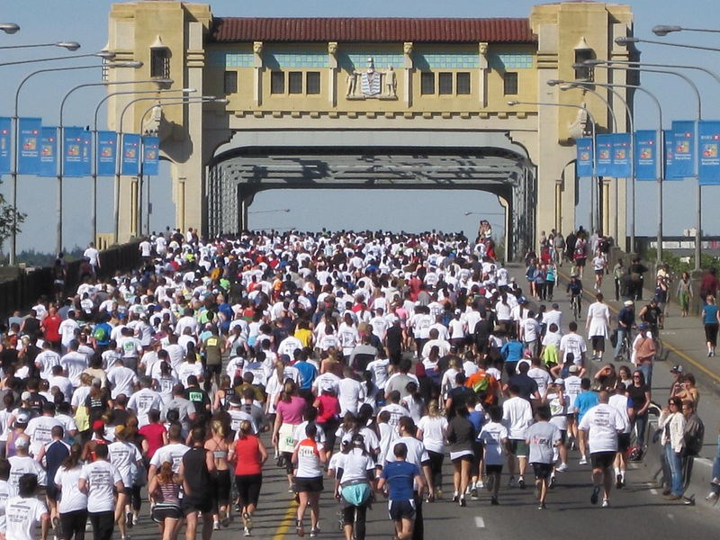 The third largest 10K in North America was slated to take place April 19 but organizers of the Sun R