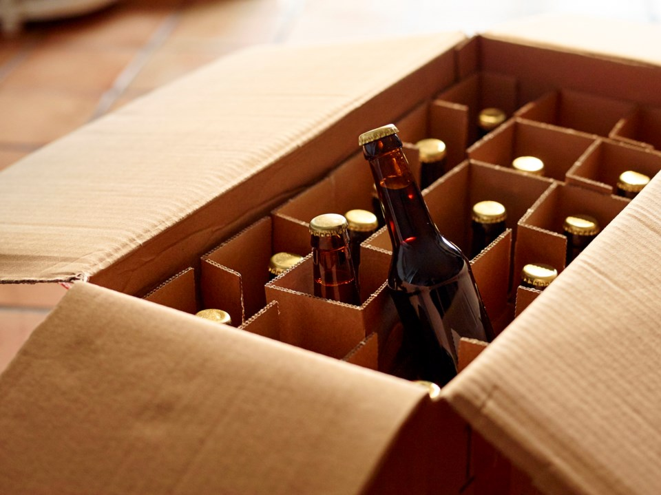 A number of B.C. breweries and liquor stores will deliver beer right to your front door. Take that,