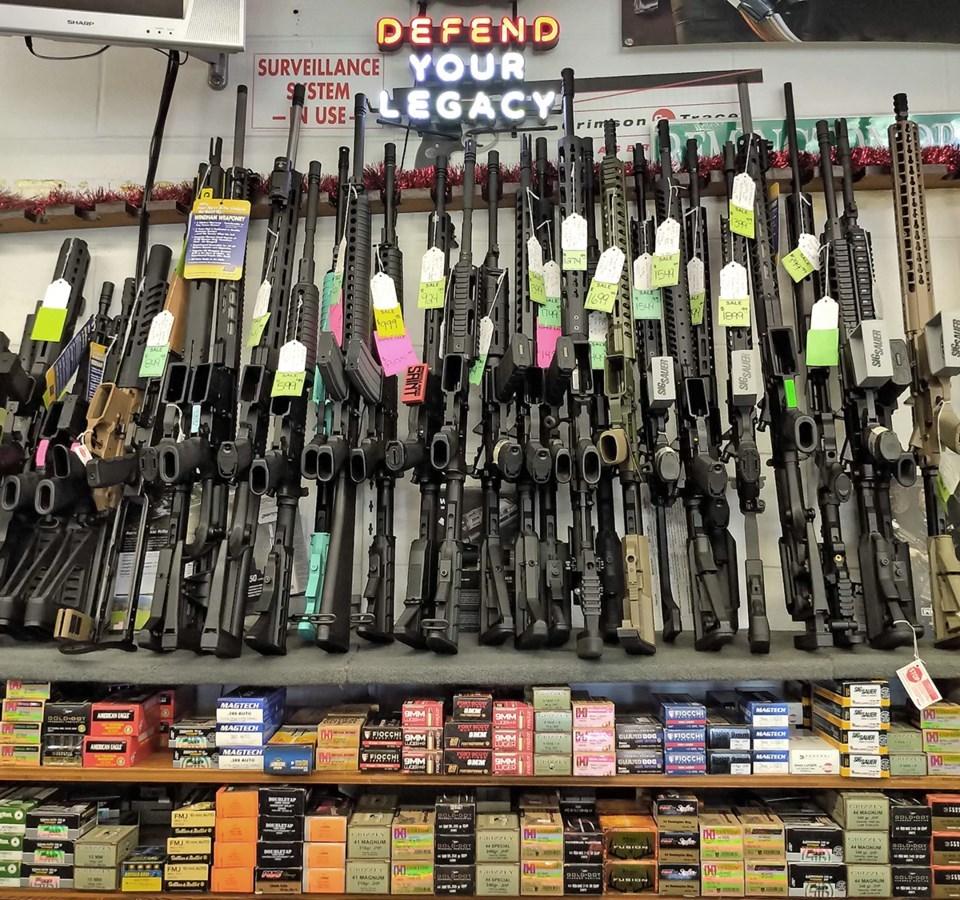 gun store guns