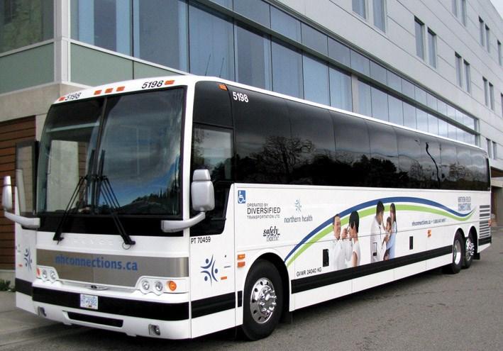 Northern Health bus WEB