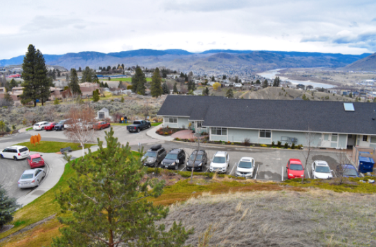 The Marjorie Willoughby Snowden Memorial Hospice Home, located on Whiteshield Crescent in Sahali, has been in operation for nearly 15 years. Webcams will allow people to not only check in on their loved ones, but also talk to them, at the hospice and other palliative care locales in the city.