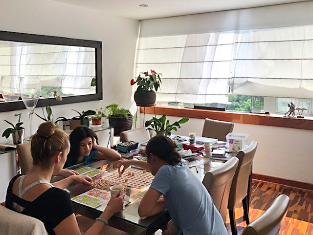 Sabine Yep daughters board game